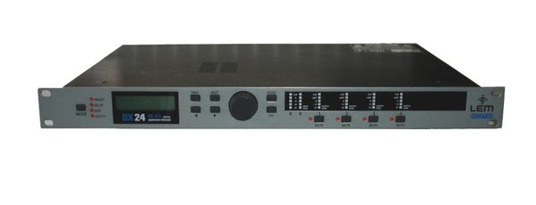 LEM DX 24 Plus Loudspeaker Digital Processor