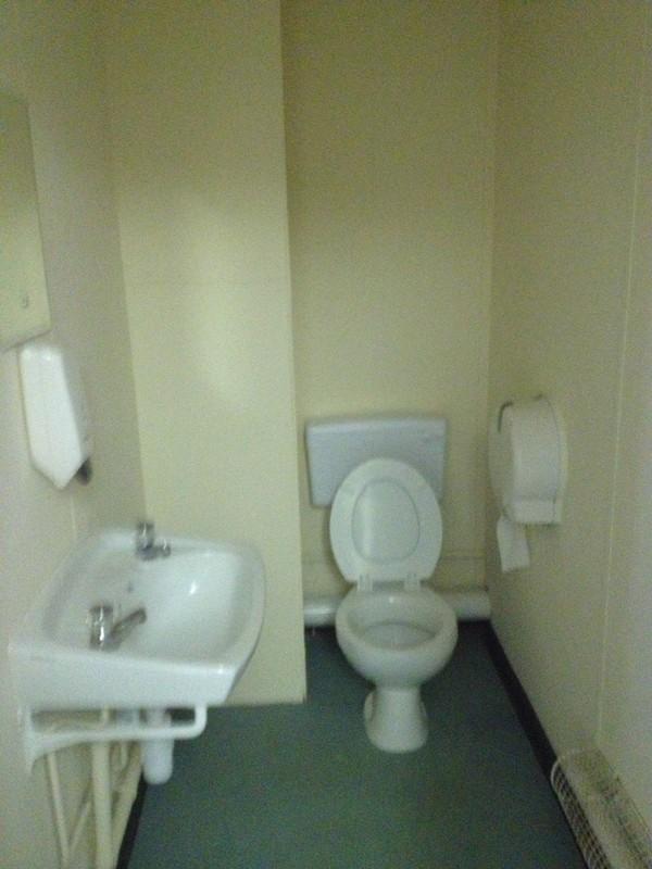 Modular Building bathroom