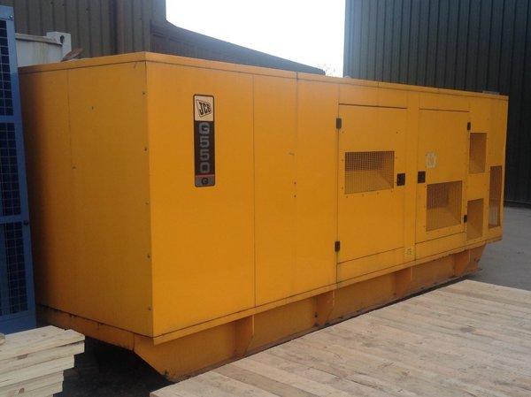 3 x JCB 550Kva Standby Rated 500Kva Prime Power Generators