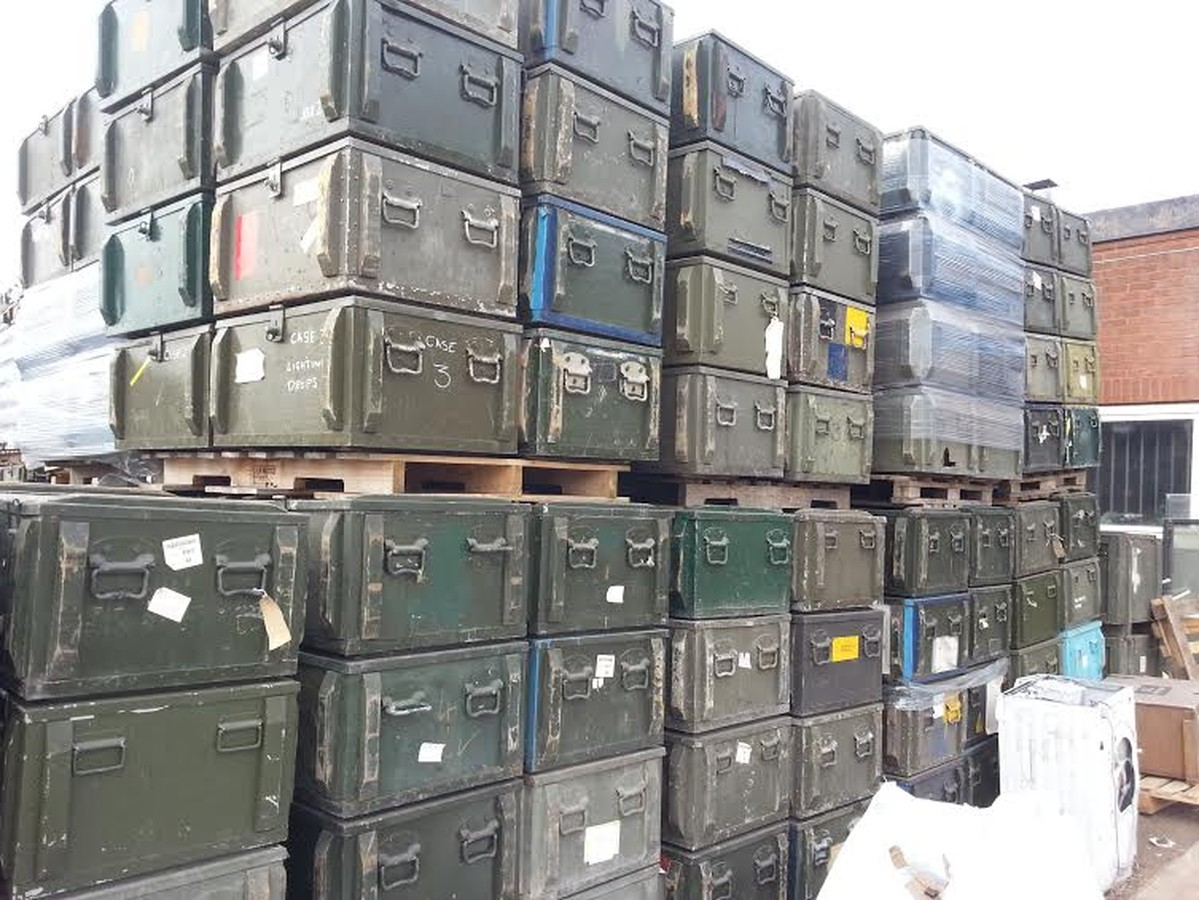 MOD / Army transport boxes Ex ... & Secondhand Plant Tools and Equipment | Containers and Storage | Ex ...