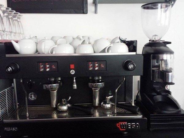 Wega Pegaso 2 group Coffee Machine plus Grinder