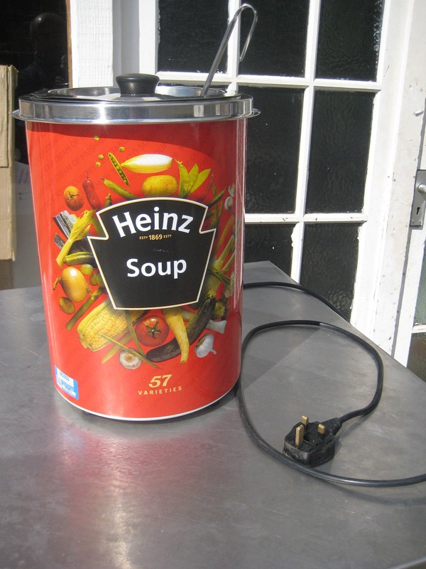Heinz soup kettle for sale