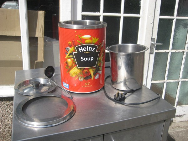 Soup kettle for Heinz soup