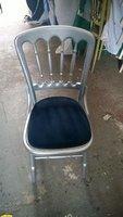 Silver gilt banqueting chair