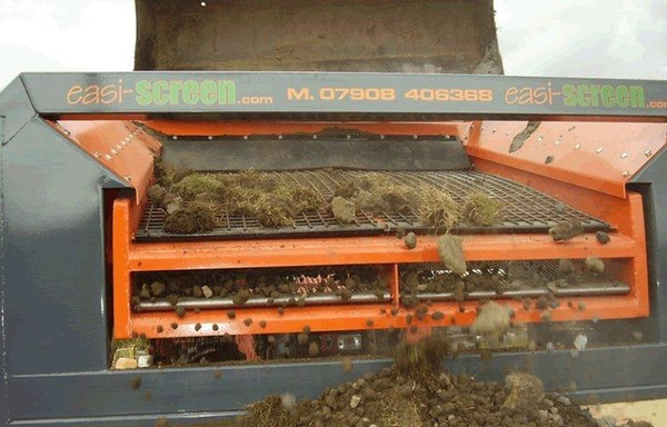 Soil grading machine for hire