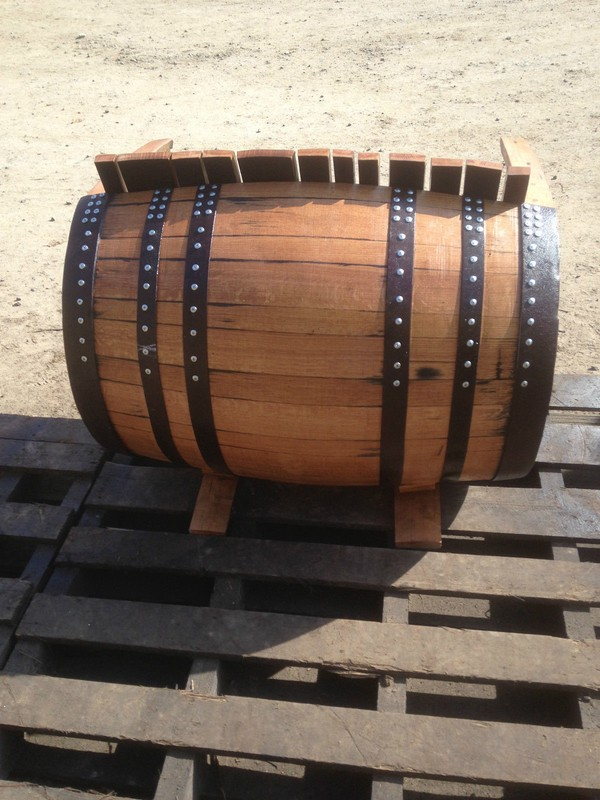 Whisky Barrel Bench for sale