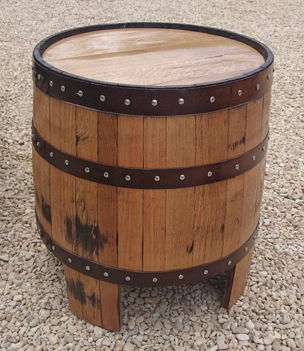 Whisky barrel table for sale