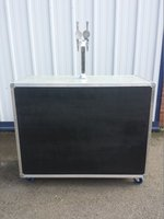 Mobile Bar With Dispense System in Flight Case on Wheels with Mini Remote and Taps