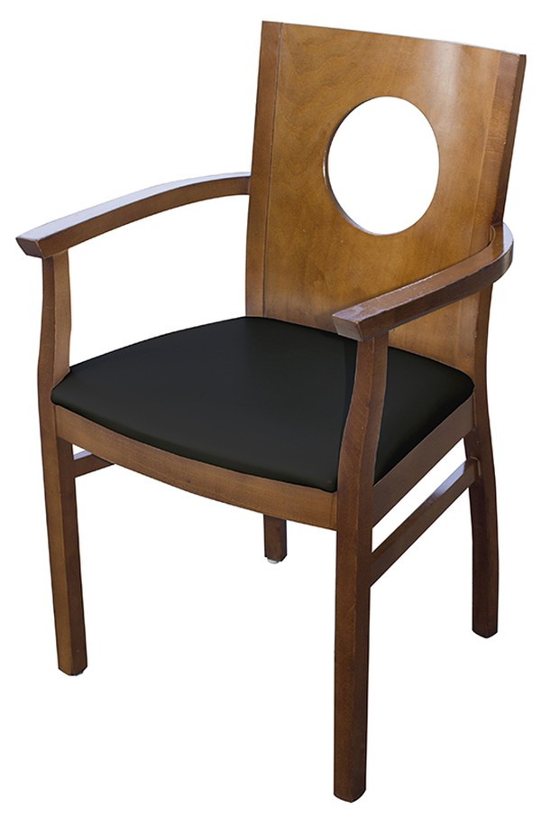 Black Carver Arm Chairs