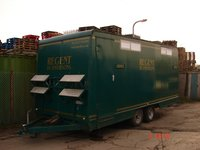 3+2 Recirculating Toilet Trailer