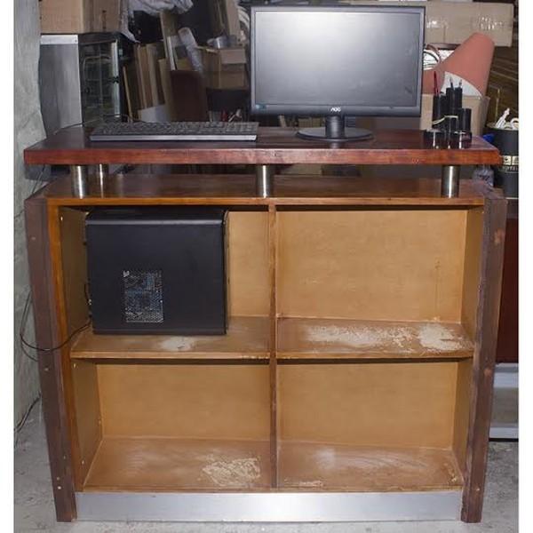 Computer shelf