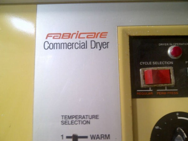 Fabricare commercial 50LB Gas Tumble Dryer