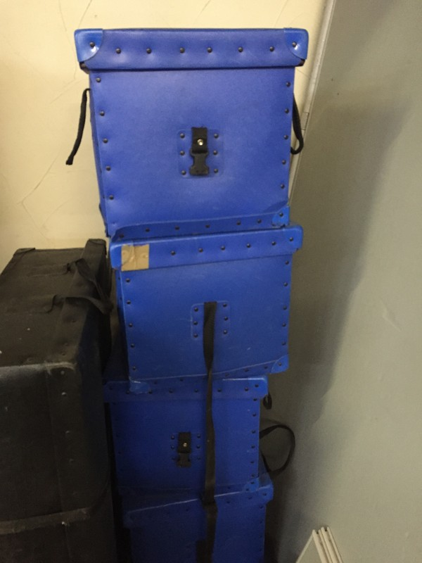 Job Lot Poster Boards Plus poles and Bases