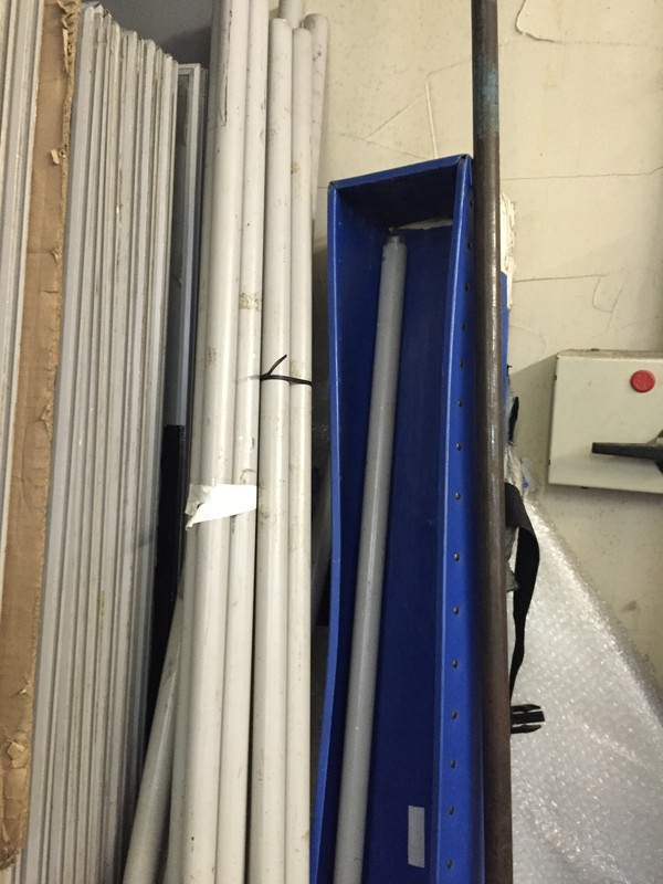 Used Poster Boards Plus poles and Bases