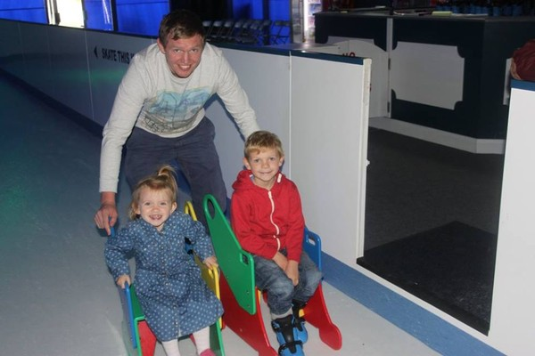 Mobile ice rink business for sale