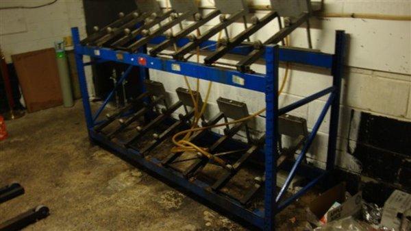 Auto Tilt Cask Racking System