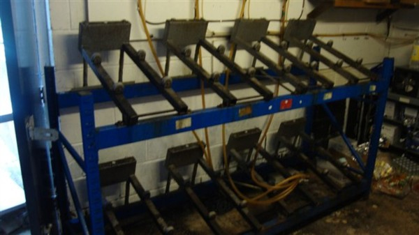 Auto Tilt Cask Racking System for sale