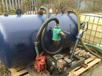 Mobile Vacuum tank for sale