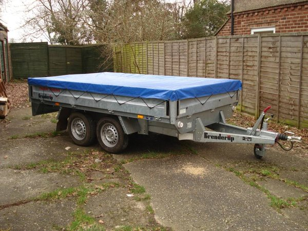 Brenderup 5310Trailer 10ft x 6ft x 2000kg