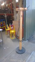 Heavy duty coat hanger - umbrella stand