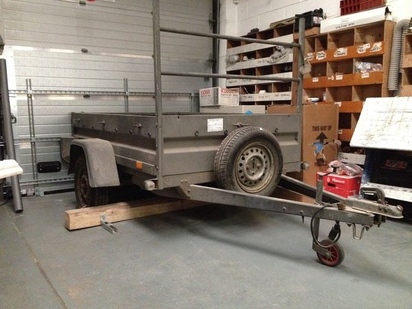 8 x 4 Brendarup trailer 750Kg