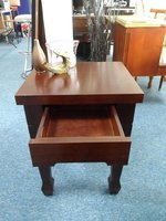 Mahogany Bed side table