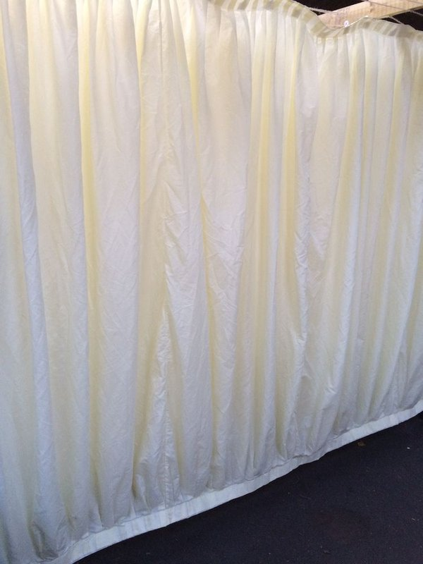 3m Ivory Pleated Wall Linings