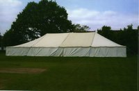 50'wide Pole Marquee Stock