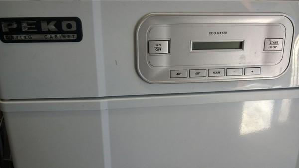 PEKO Drying Cabinet controls
