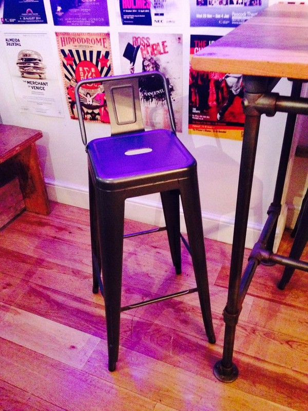 Industrial high stools
