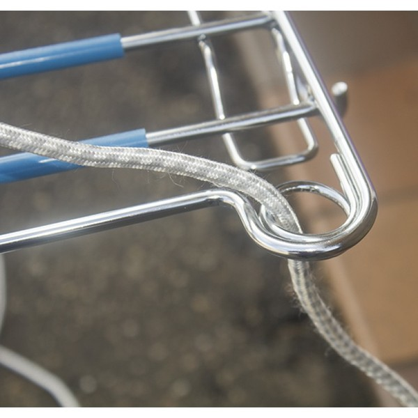 Ironing board cord guide