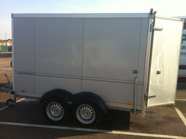 Selling 2 x 3m Humber Road Fridge trailers