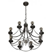 Small Black Chandelier