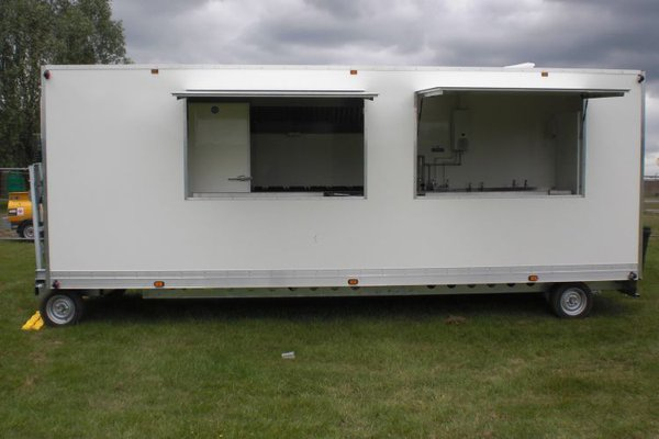 Complete Event Catering Trailer for sale