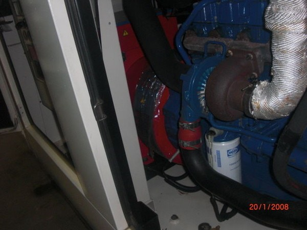 Diesel Generator with Stamford Alternator