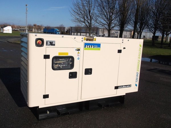 AKSA 40Kva Single Phase Silent Diesel Generator