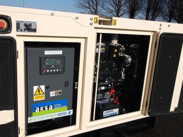 Buy AKSA 40Kva Single Phase Silent Diesel Generator