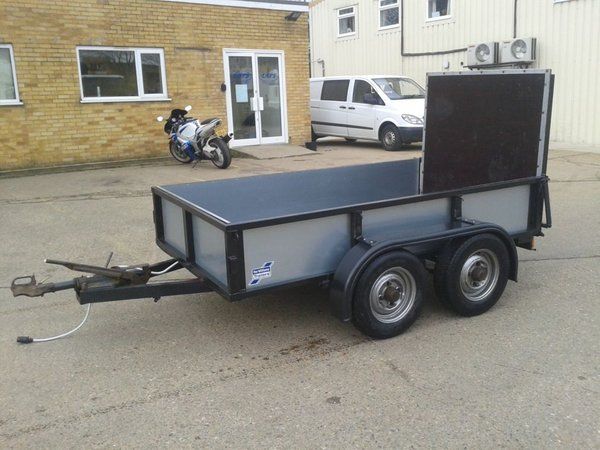 Ifor Williams Heavy Duty Trailer (Digger Trailer)