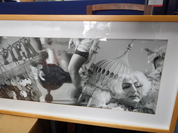 Framed photograph of Brighton life