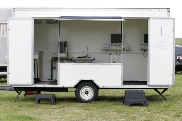 Event photography trailer for sale