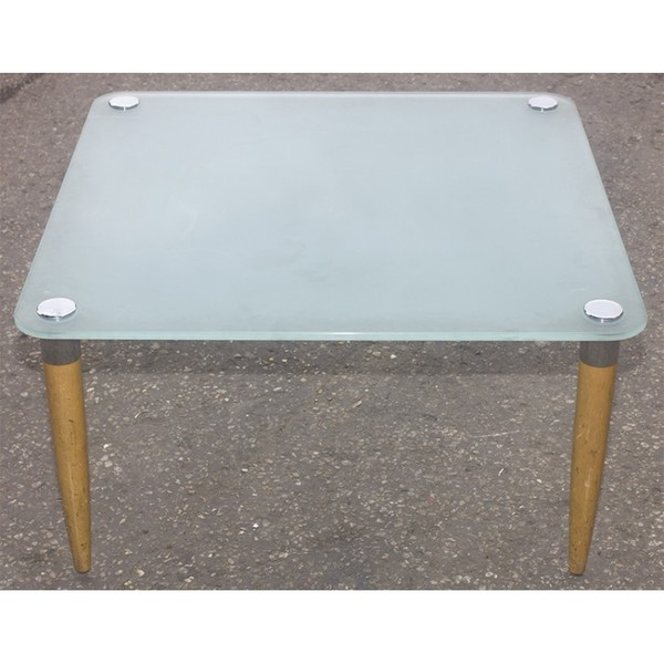 Square Glass Low Table