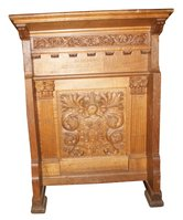 Carved Oak Lectern