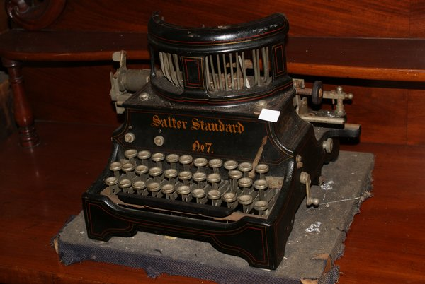 Antique Salter Type 7 Typewriter Collectors Piece