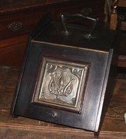 Art Nouveau Coal Box with Handle