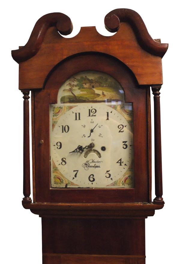 Longcased Victorian Grandfather Clock