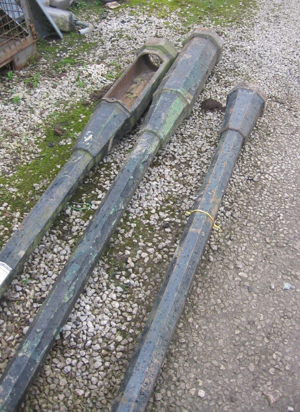 reclaimed lamp posts