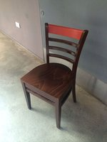 12x Solid Wood Restaurant / Cafe / Bar Chairs