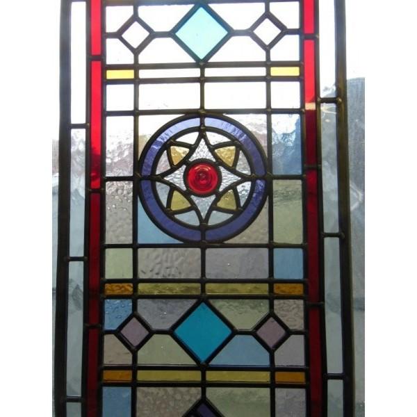 Traditional Edwardian door glass