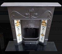 Art Nouveau Fire place