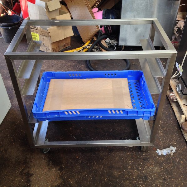 Stainless Steel Storage Rack with runners